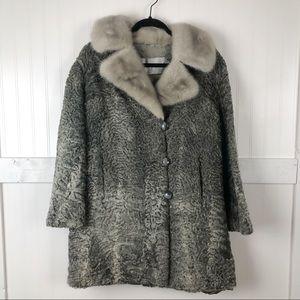 Vintage | Persian Lamb & Fur Albrechts Coat